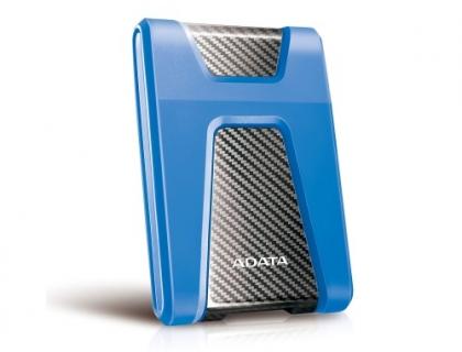 """ADATA DashDrive Durable HD650 1TB, 2.5"""" , USB 3.1, синий (AHD650-1TU31-CBL)"""