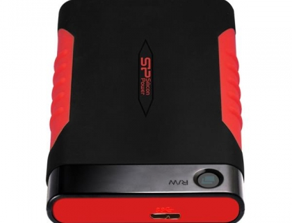 "Silicon Power Armor A15 500GB, 2.5"", USB 3.0 (SP500GBPHDA15S3L) Black/Red"