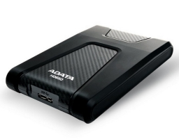 "ADATA DashDrive Durable HD650 1TB, 2.5"" , USB 3.1, черный (AHD650-1TU31-CBK)"