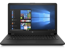 "HP 15-bw001ur (1UJ51EA) AMD E2 9000E 1500 MHz/15.6""/1366x768/4Gb/500Gb HDD/DVD нет/AMD Radeon R2/Wi-Fi/Bluetooth/DOS (Black)"