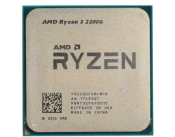 AMD Ryzen 3 2200G Raven Ridge AM4, L3 4096Kb (YD2200C5M4MFB) OEM