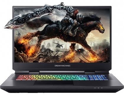 """Dream Machines RX2060-17RU31 Intel Core i7 10700K 3800MHz/17.3""""/1920x1080/16GB/1024GB SSD/DVD нет/NVIDIA GeForce RTX 2060 6GB/Wi-Fi/Bluetooth/Без ОС (Black)"""