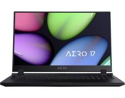 """GIGABYTE AERO 17 WB-7RU1130SH Intel Core i7 10750H 2600MHz/17.3""""/1920x1080/16GB/512GB SSD/NVIDIA GeForce RTX 2070Max-Q 8GB/Windows 10 Home (9RP77WB8BG8S1RU0000) Black"""