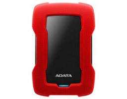 "A-DATA HD330 1TB, 2,5"" , USB 3.1, красный (AHD330-1TU31-CRD)"