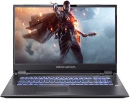 """Dream Machines RG2070S-17RU31 Intel Core i7 10750H 2600MHz/17.3""""/1920x1080/16GB/1024GB SSD/DVD нет/NVIDIA GeForce RTX 2070 Super 8GB/Wi-Fi/Bluetooth/Без ОС (Black)"""