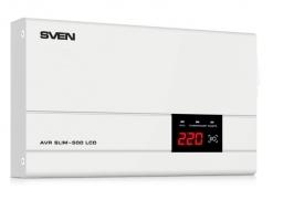 SVEN AVR SLIM 500 LCD (0.4 кВт) (SV-012809)