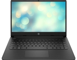 "HP 14s-fq0019ur (22P65EA) AMD Athlon 3050U 2300MHz/14""/1920x1080/4GB/256GB SSD/DVD нет/AMD Radeon Graphics/Wi-Fi/Bluetooth/DOS (Black)"