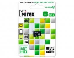 Mirex microSDHC Class 10 8GB (13612-MC10SD08)