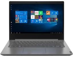 "Lenovo V14-IGL Intel Celeron N4020 1100MHz/14""/1920x1080/4GB/128GB SSD/DVD нет/Intel UHD Graphics 600/Wi-Fi/Bluetooth/DOS (82C2001ARU) Grey"