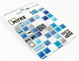 Mirex microSDHC Class 4 16GB (13612-MCROSD16)