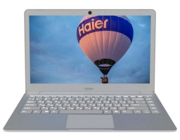 "Haier i424 Intel Pentium N4200 1100 MHz/13.3""/1920x1080/4GB/180GB SSD/DVD нет/Intel HD Graphics 505/Wi-Fi/Bluetooth/Windows 10 Home (TD0030554RU) Silver"