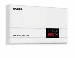 SVEN AVR SLIM 1000 LCD (0.8 кВт) (SV-012816)
