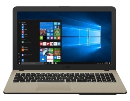 "ASUS VivoBook X540MA-GQ120 Intel Pentium N5000 1100 MHz/15.6""/1366x768/4GB/500GB HDD/DVD нет/Intel UHD Graphics 605/Wi-Fi/Bluetooth/Endless OS (90NB0IR1-M03640) Black"