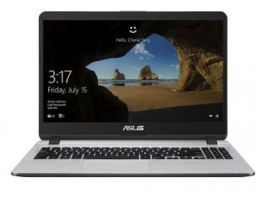 "ASUS X507MA-BR145 Intel Celeron N4000 1100 MHz/15.6""/1366x768/4GB/256GB SSD/DVD нет/Intel UHD Graphics 600/Wi-Fi/Bluetooth/DOS (90NB0HL1-M08470) Grey"