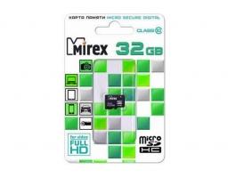 Mirex microSDHC Class 10 32GB (13612-MC10SD32)