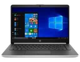 "HP 14-dk0018ur (7KG37EA) AMD Athlon 300U 2400 MHz/14""/1366x768/4GB/128GB SSD/DVD нет/AMD Radeon Vega 3/Wi-Fi/Bluetooth/Windows 10 (Silver)"